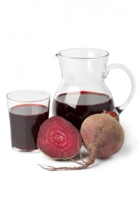 Fresh juice of red beets