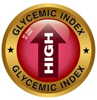 glycemic index - high