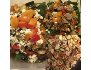 Sautéed Veggie Salad